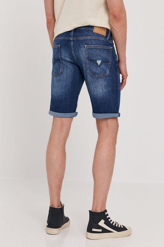 Guess - Rifľové krátke nohavice  83% Bavlna, 2% Elastan, 15% Polyester