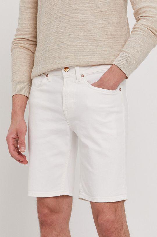 biały Guess - Szorty jeansowe Męski