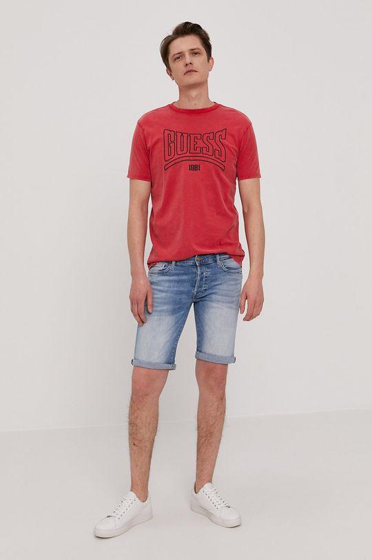 Guess - Džínové šortky modrá