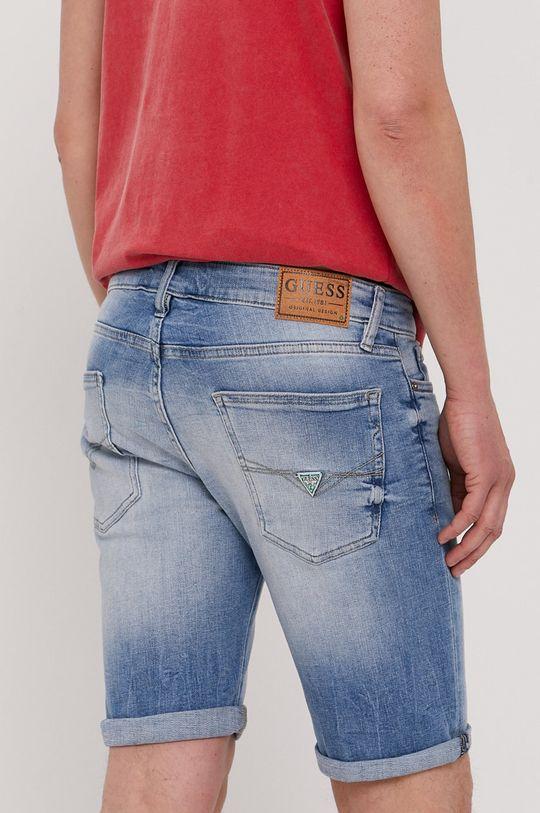 Guess - Džínové šortky  Podšívka: 100% Bavlna Hlavní materiál: 98% Bavlna, 2% Elastan