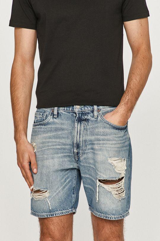 niebieski Guess - Szorty jeansowe Męski
