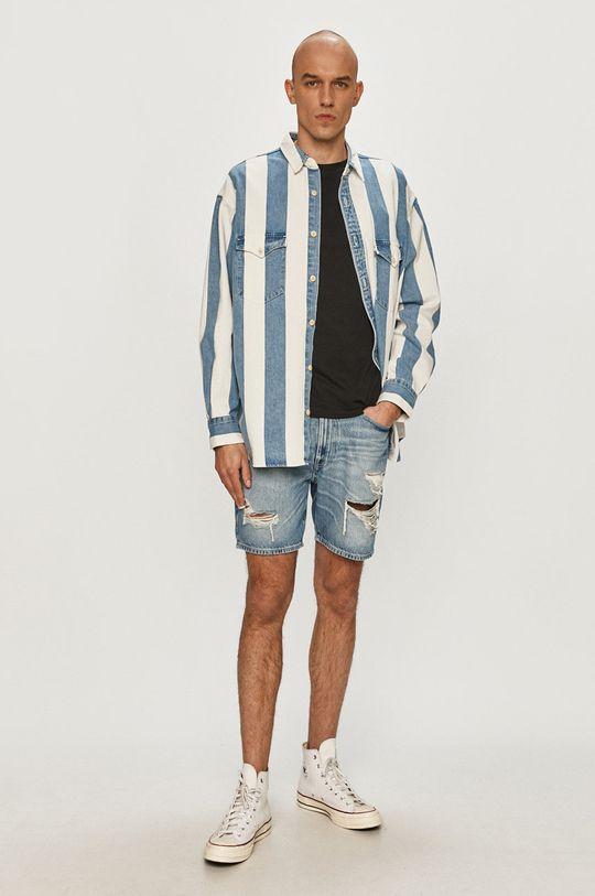 Guess - Szorty jeansowe niebieski