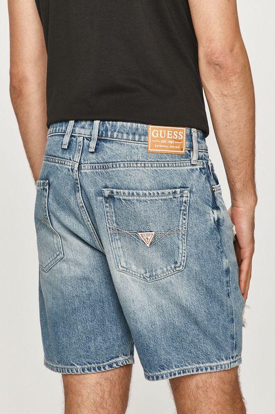 Guess - Szorty jeansowe Podszewka: 35 % Bawełna, 65 % Poliester, Materiał zasadniczy: 100 % Bawełna