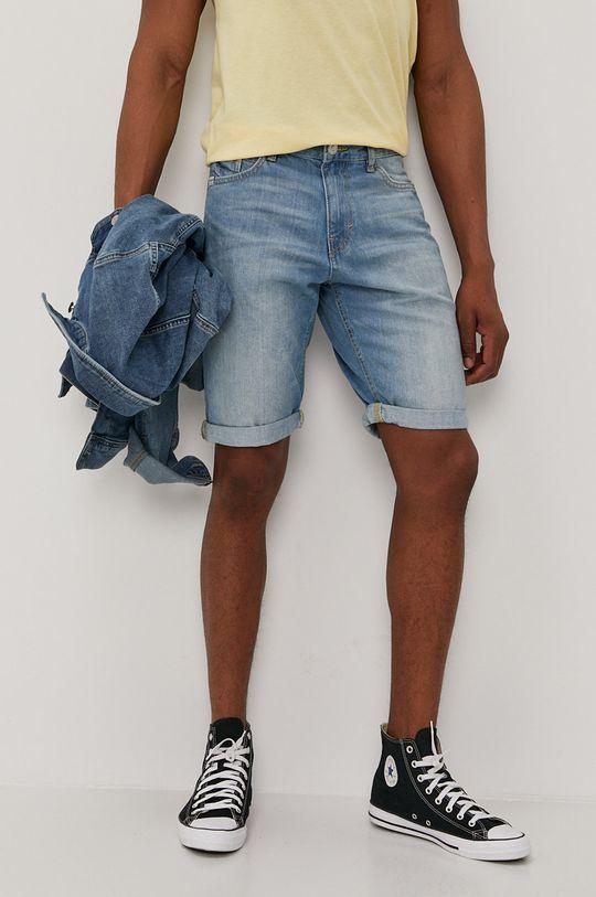 niebieski Tom Tailor - Szorty jeansowe Męski