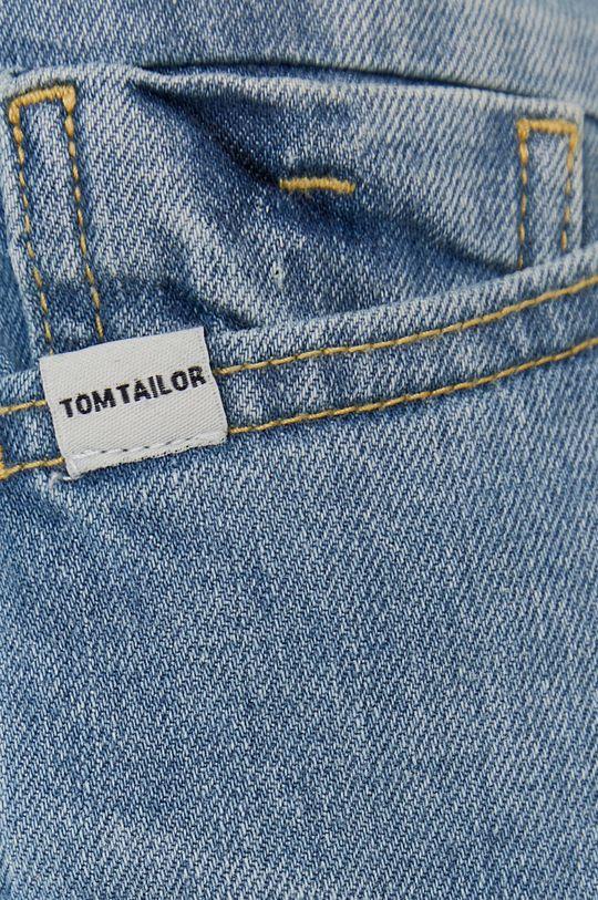 niebieski Tom Tailor - Szorty jeansowe