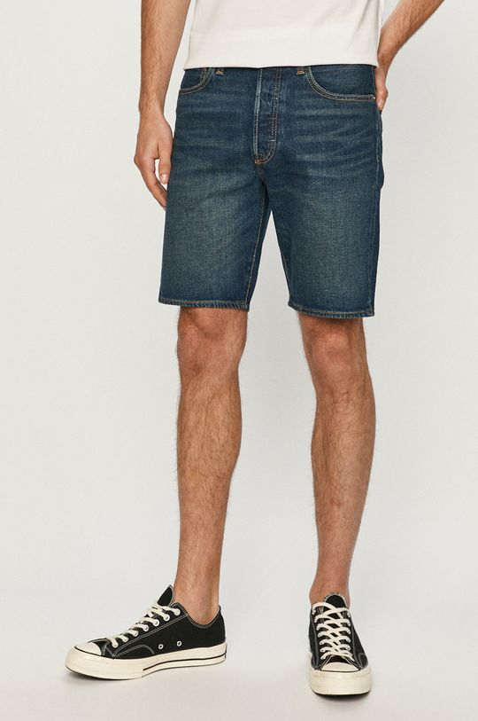 granatowy Levi's - Szorty jeansowe Męski
