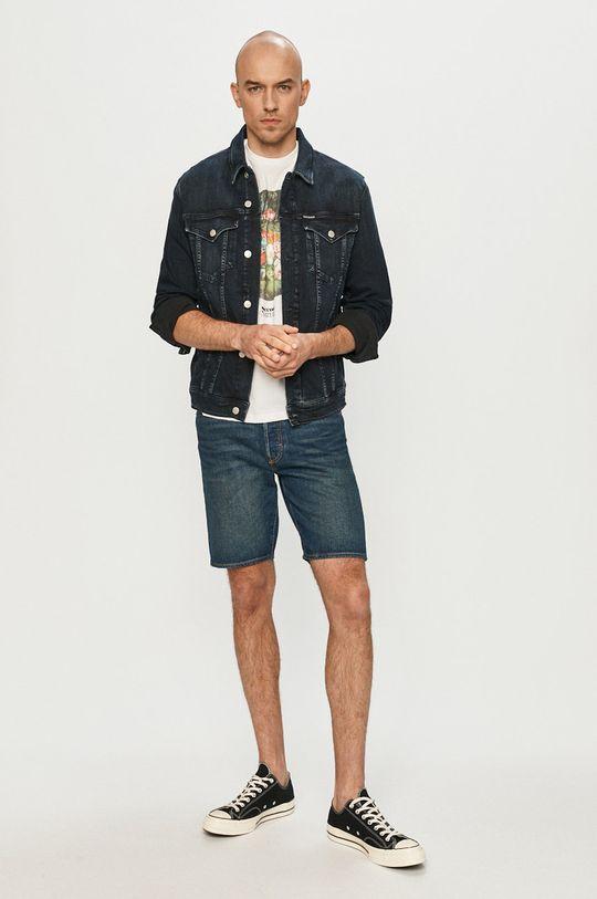 Levi's - Szorty jeansowe granatowy
