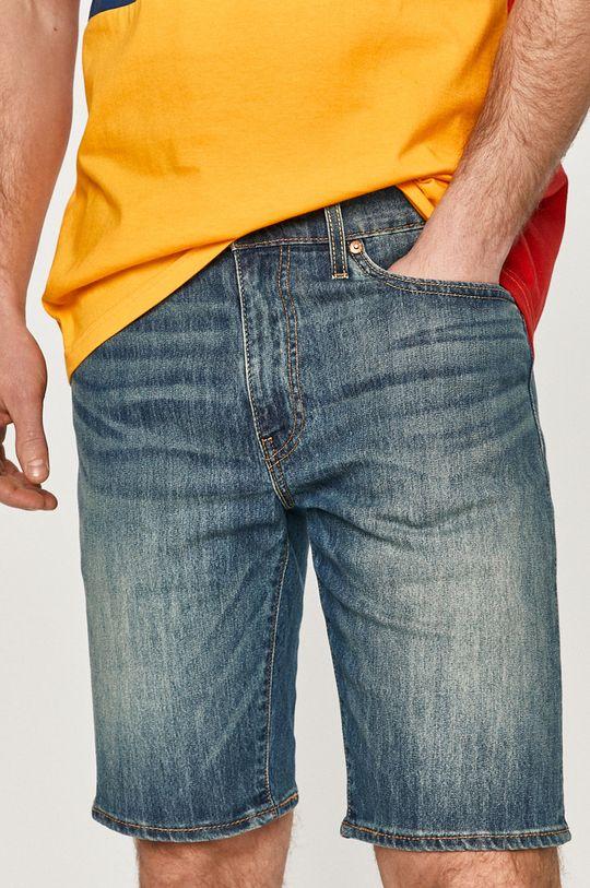 niebieski Levi's - Szorty jeansowe Męski