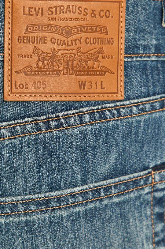 niebieski Levi's - Szorty jeansowe