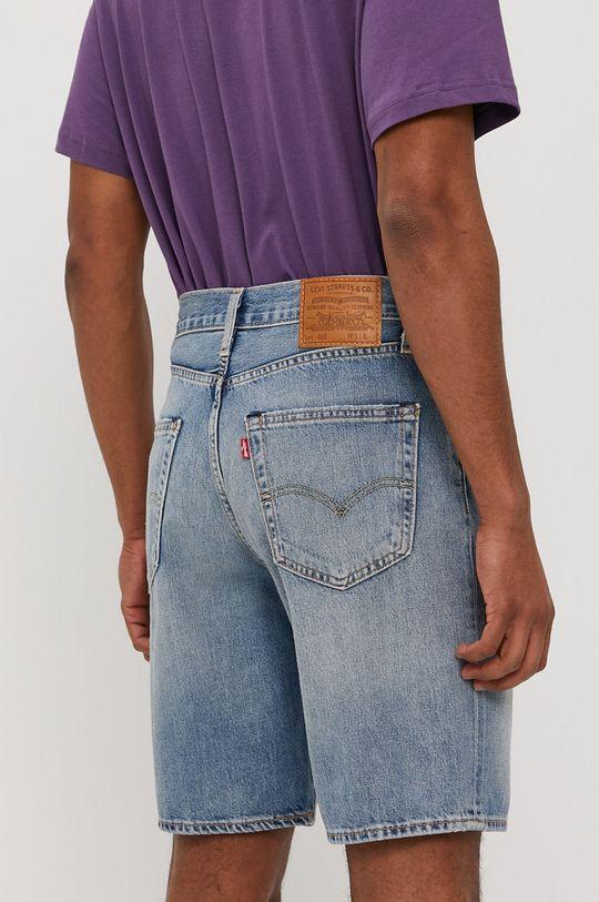 Levi's - Rifľové krátke nohavice  100% Bavlna