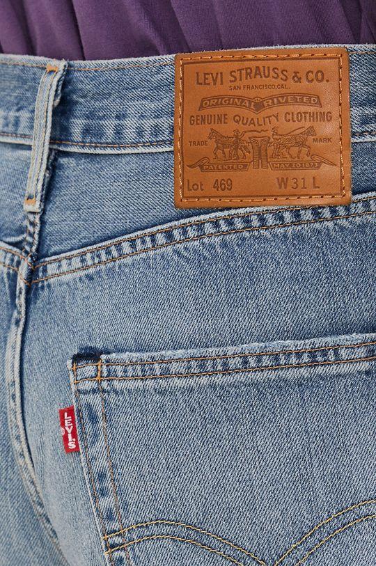 modrá Levi's - Rifľové krátke nohavice