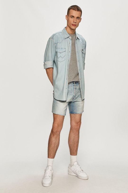 Levi's - Džínové šortky světle modrá