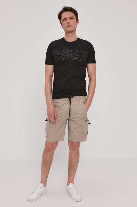 Calvin Klein Jeans - Kraťasy šedá