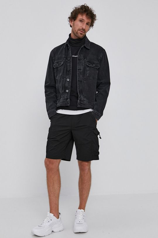 Calvin Klein Jeans - Pantaloni scurti negru