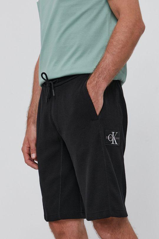 czarny Calvin Klein Jeans - Szorty Męski