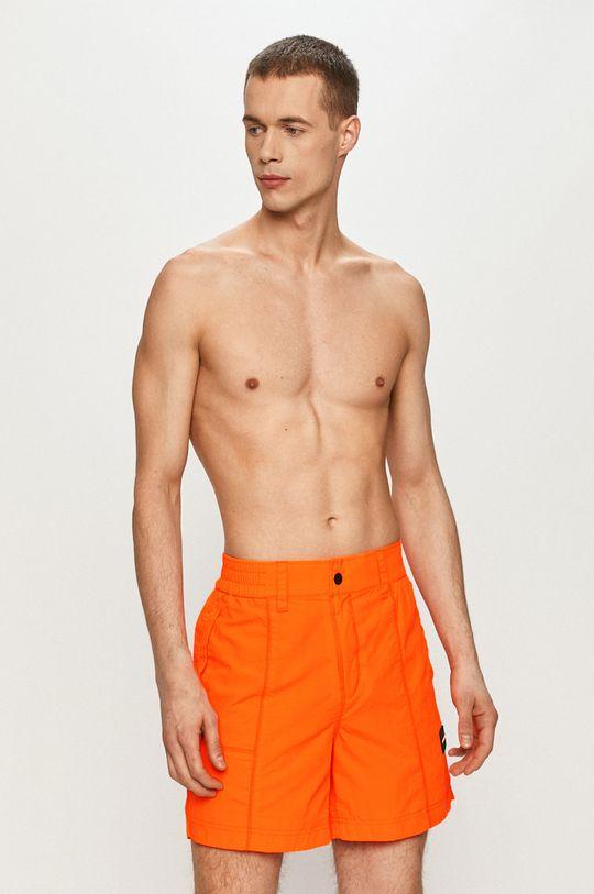 pomarańczowy Calvin Klein Jeans - Szorty Męski