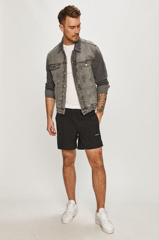Calvin Klein Jeans - Kraťasy černá