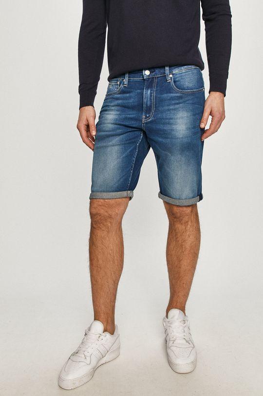 námořnická modř Calvin Klein Jeans - Džínové šortky Pánský