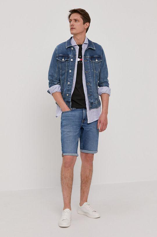 Calvin Klein Jeans - Džínové šortky modrá