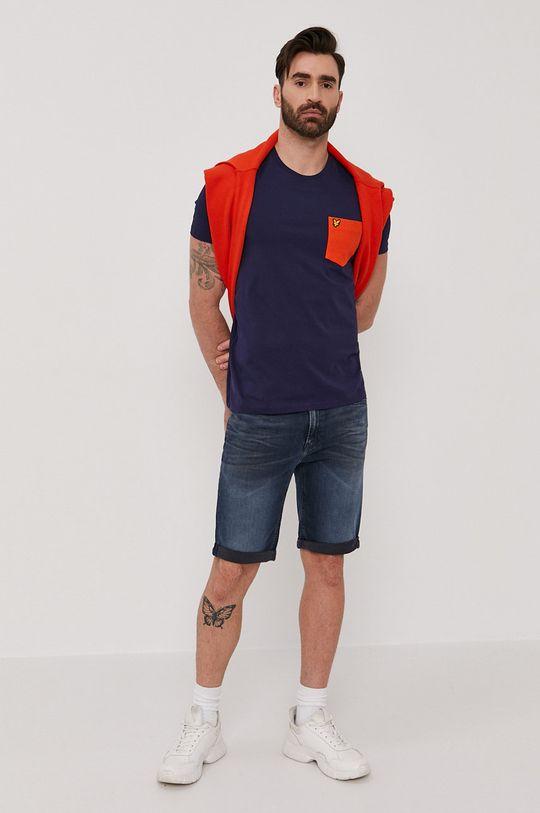 Calvin Klein Jeans - Szorty jeansowe granatowy