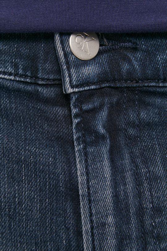 granatowy Calvin Klein Jeans - Szorty jeansowe