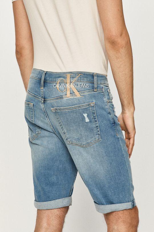 Calvin Klein Jeans - Džínové šortky  75% Bavlna, 1% Elastan, 24% Polyester