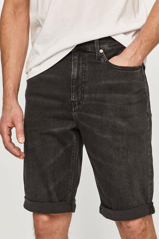 negru Calvin Klein Jeans - Pantaloni scurti jeans De bărbați