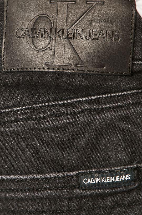 negru Calvin Klein Jeans - Pantaloni scurti jeans