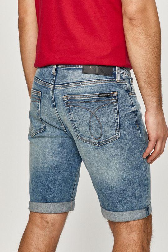 Calvin Klein Jeans - Rifľové krátke nohavice  90% Bavlna, 2% Elastan, 8% Elastomultiester