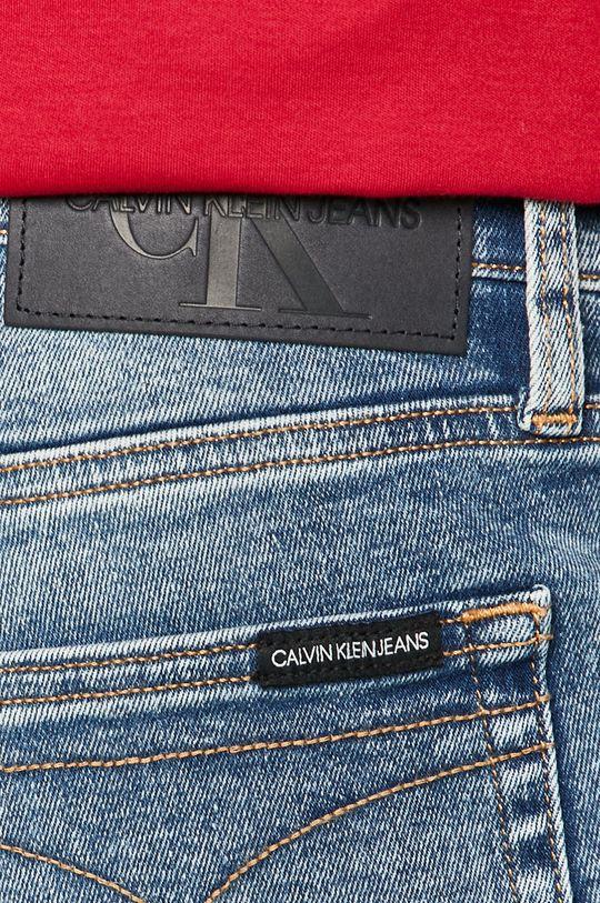 Calvin Klein Jeans - Rifľové krátke nohavice Pánsky