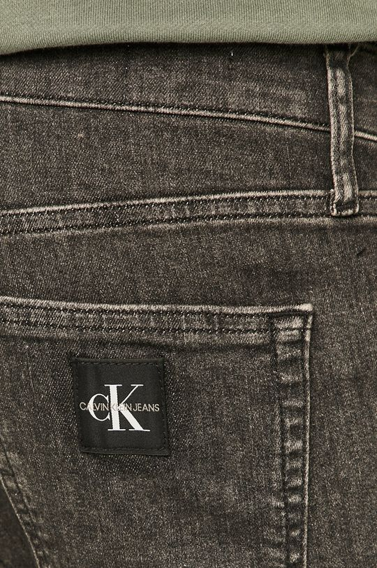 szary Calvin Klein Jeans - Szorty jeansowe