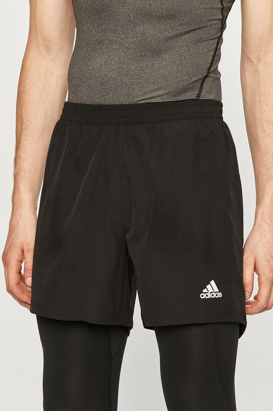čierna adidas Performance - Šortky Pánsky