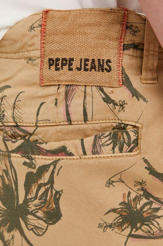 zlatohnedá Pepe Jeans - Šortky Major