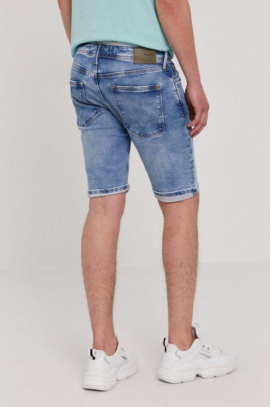 Pepe Jeans - Rifľové krátke nohavice Stanley  Základná látka: 99% Bavlna, 1% Elastan Podšívka vrecka: 60% Bavlna, 40% Polyester