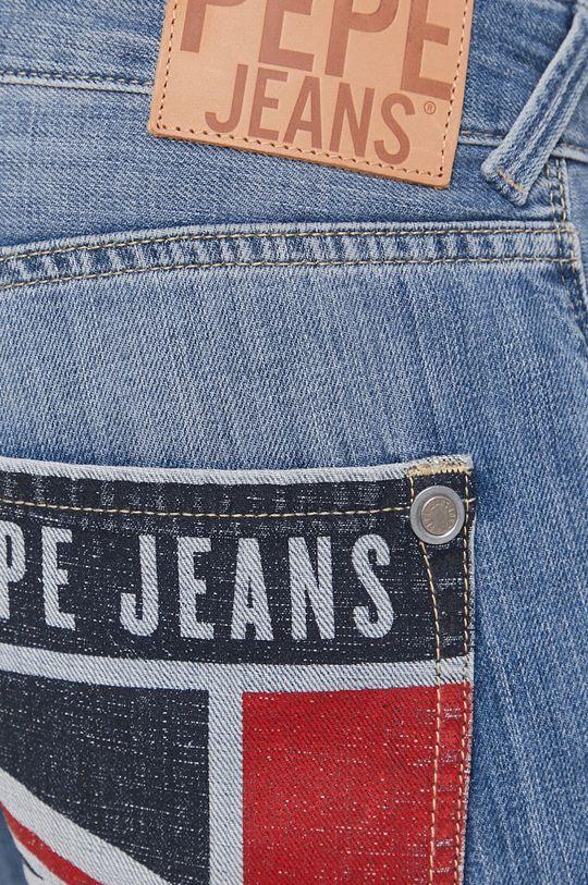 niebieski Pepe Jeans - Szorty Stanley