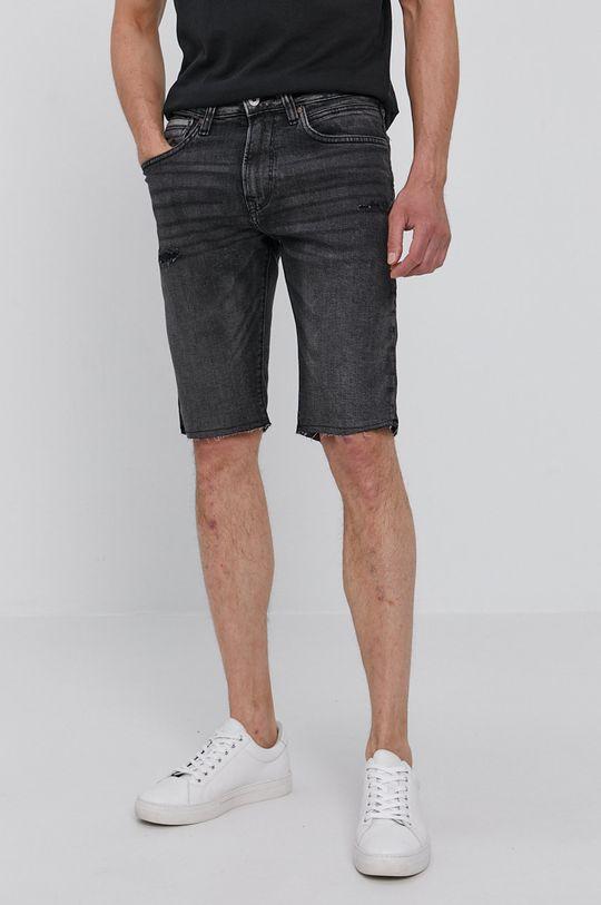 szary Pepe Jeans - Szorty jeansowe Stanley Męski