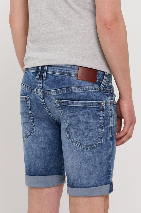 Pepe Jeans - Džínové šortky Hatch  77% Bavlna, 2% Elastan, 21% Polyester
