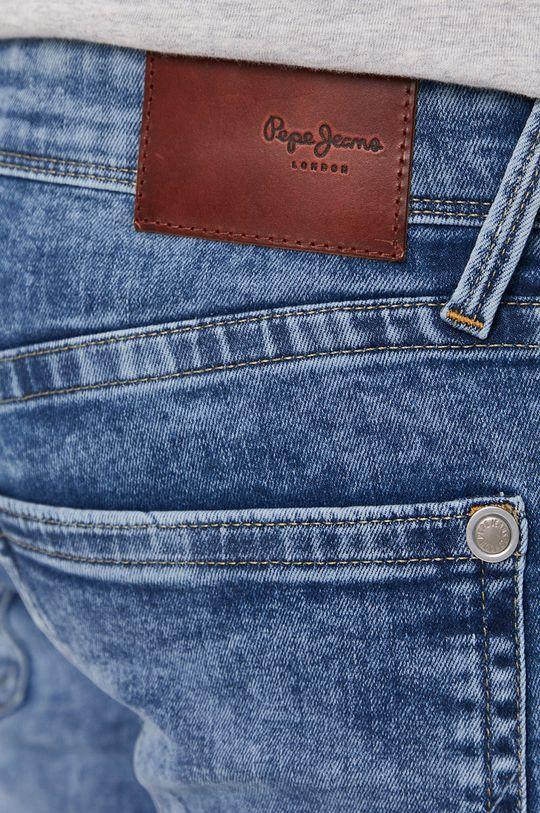 modrá Pepe Jeans - Džínové šortky Hatch