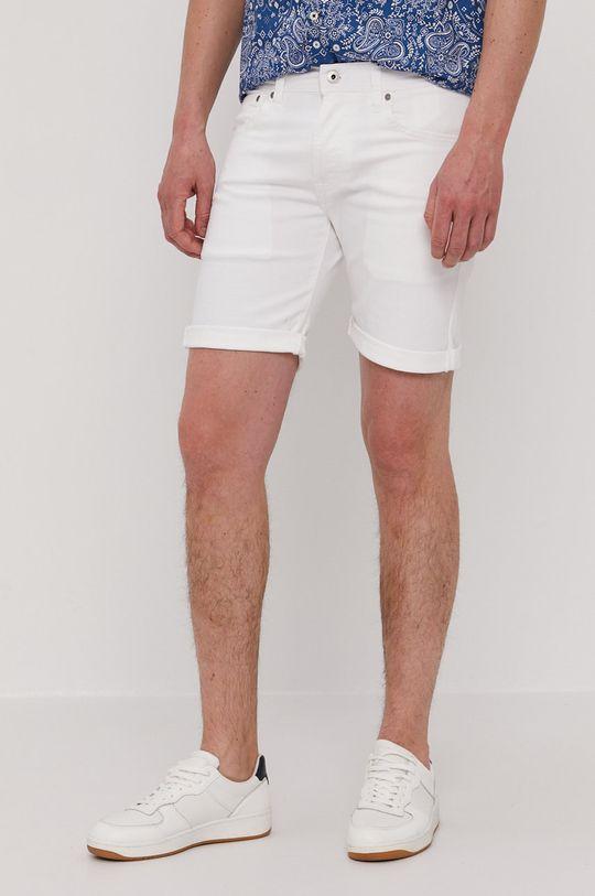 Pepe Jeans - Šortky Cane biela