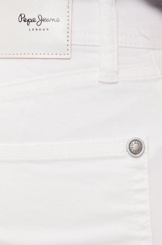 biela Pepe Jeans - Šortky Cane