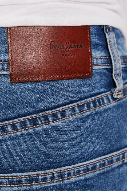 niebieski Pepe Jeans - Szorty jeansowe Cane
