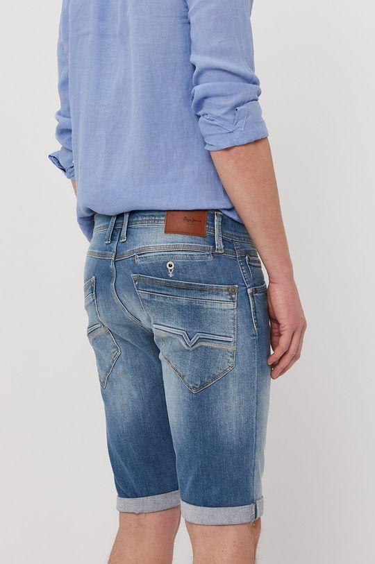 Pepe Jeans - Rifľové krátke nohavice SPIKE  98% Bavlna, 2% Elastan