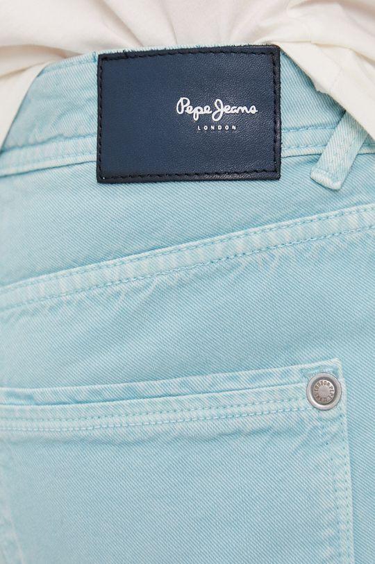 jasny turkusowy Pepe Jeans - Szorty jeansowe Stanley