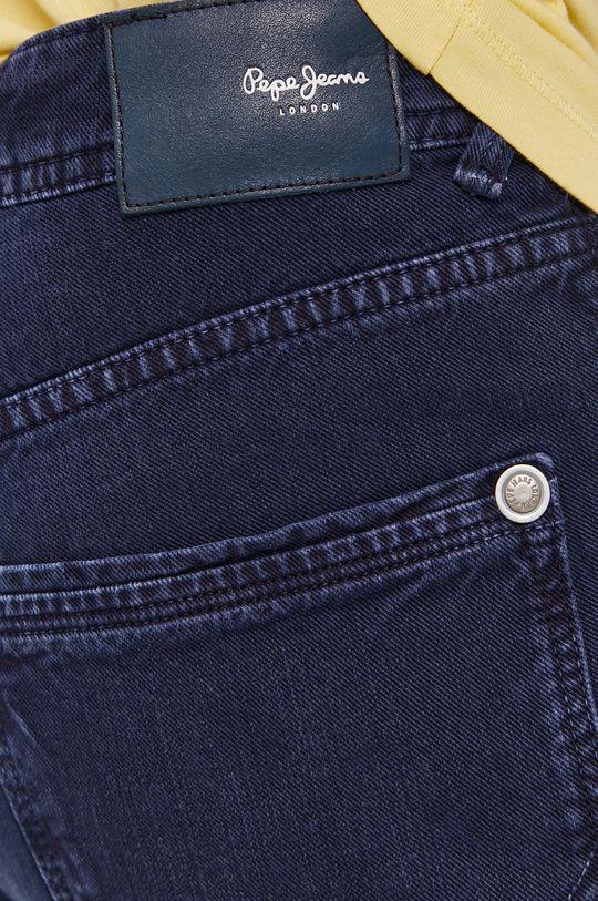 granatowy Pepe Jeans - Szorty jeansowe Stanley