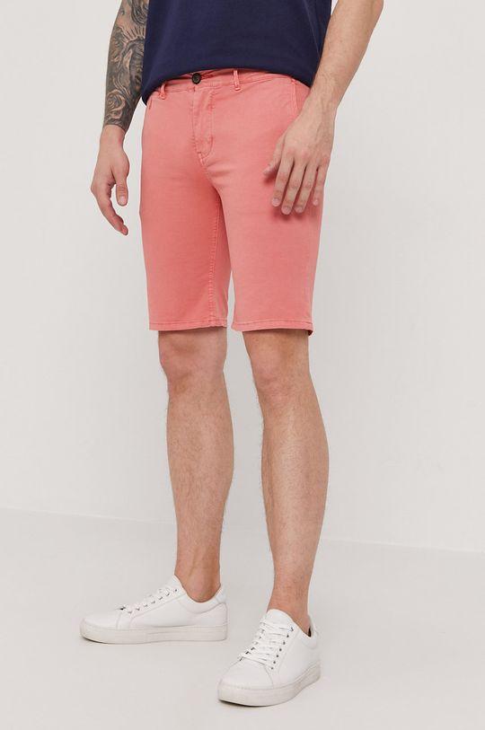 ostry różowy Pepe Jeans - Szorty Blackburn Męski