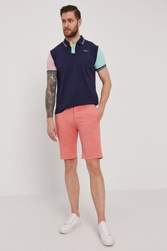Pepe Jeans - Szorty Blackburn ostry różowy