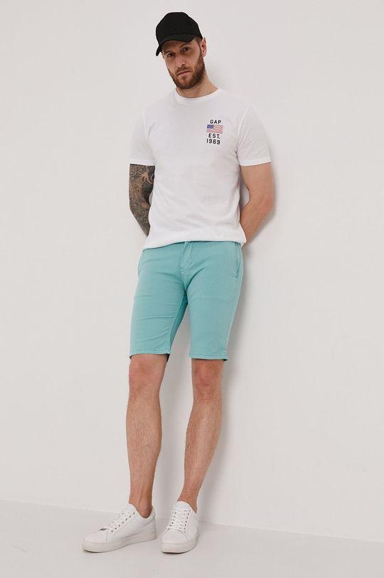 Pepe Jeans - Szorty Blackburn jasny turkusowy
