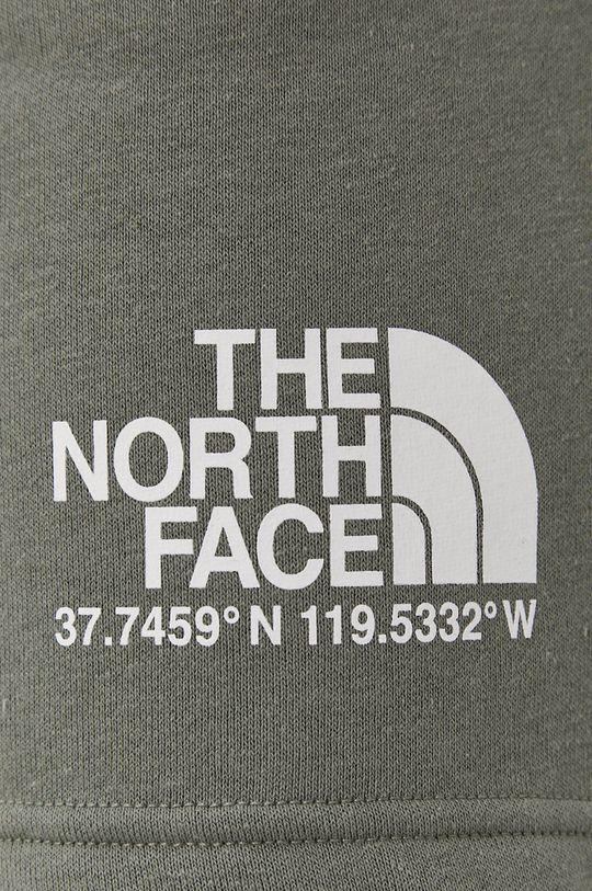 oliwkowy The North Face - Szorty