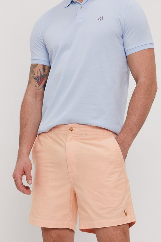 jasně oranžová Polo Ralph Lauren - Kraťasy Pánský