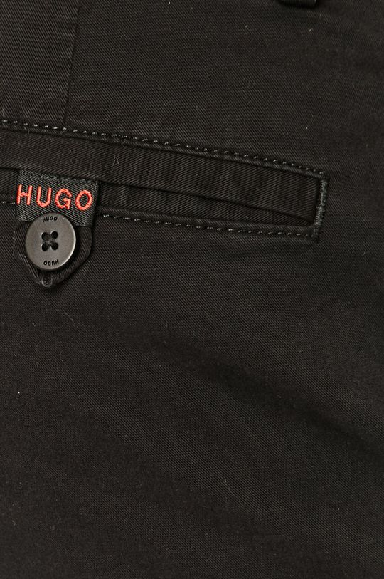 czarny Hugo - Szorty